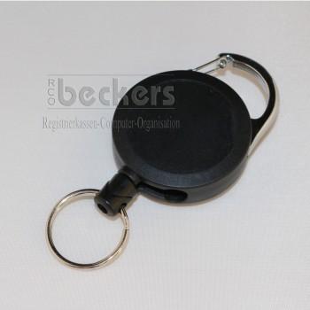 Kartenhalter Werkzeughalter arretierbar schwarz