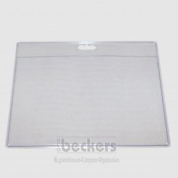 Ausweishülle transparent PVC 84x105