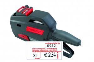 contact premium 20.37 Umb. Eier Warenauszeichner für Etiketten 37x19 mm