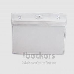Ausweishülle transparent Zip-Lock 68 x 110 mm