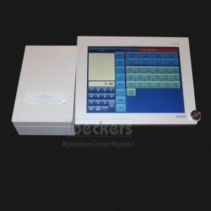 Casio V-R100 KC WE mit KlarCash und Fiskal-Software Weiß Version Handel