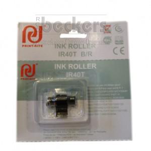 Farbwalze Ink-Roller IR-40 schwarz/rot