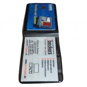 Magnet-Kartenhalter quer und längs Längsformat