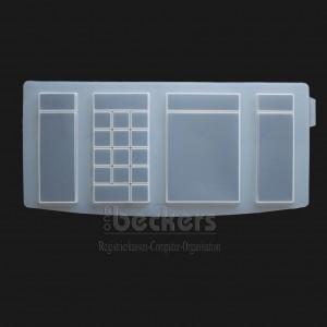 Tastaturabdeckung Sharp XE-A207 XE-A307