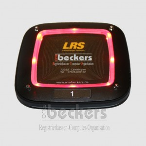 RX-CS6 Coaster Pager ohne Digitalanzeige LED rot